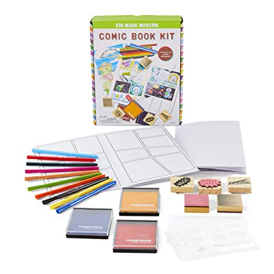 Kid Made Modern Comic Book Kit - Kids Craft Kit, Storytelling for Kids: Toys & Games
