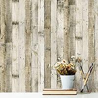 Vandod Träavskalning och stick tapet falskt trä plankpapper trä självhäftande självhäftande avtagbar väggdekoration…