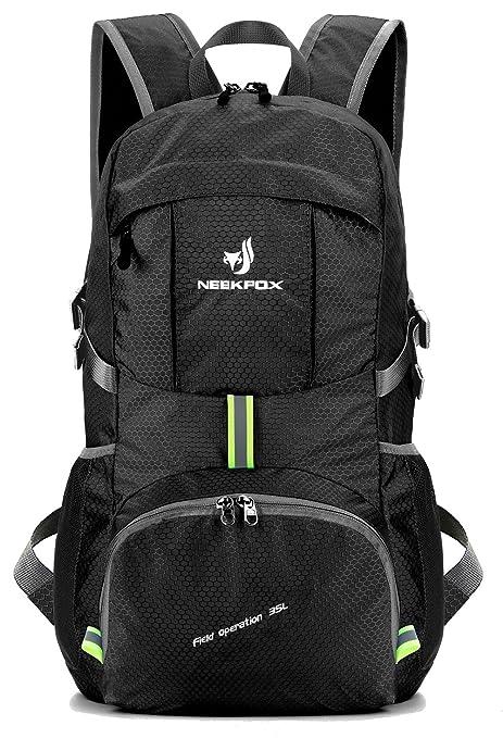 10da1c6c83a7 Amazon.com   NEEKFOX Lightweight Packable Travel Hiking Backpack ...