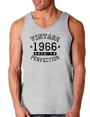 TooLoud 1966 Vintage Birth Year Loose Tank Top Brand