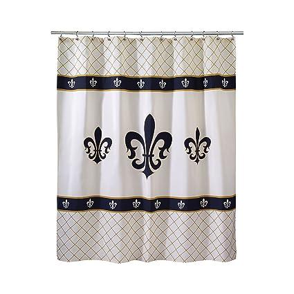 Attractive Avanti Fleur De Lis Luxembourg Shower Curtain