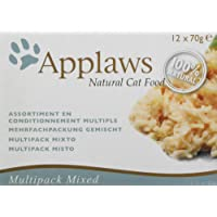 Applaws Cat Tin Multipack Supreme Selection, 70 g,(Pack of 4 x 12)