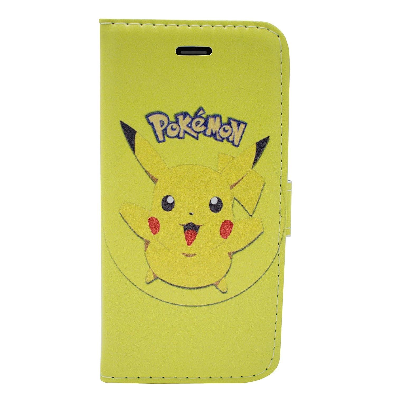 6039164665 iPhone 7 Pokemon PU Leather Flip Wallet Case: Amazon.co.uk: Electronics