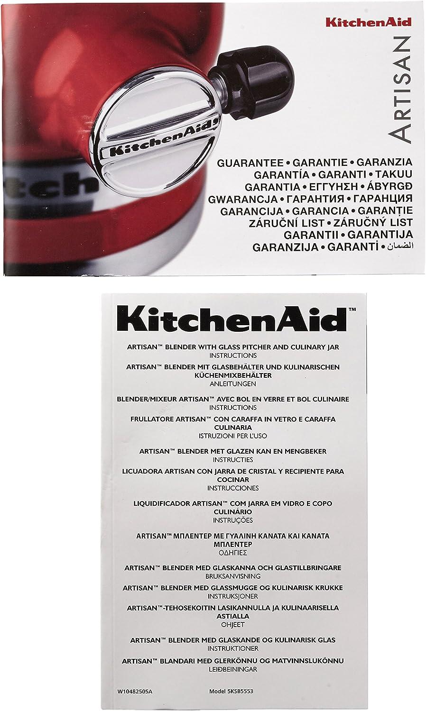 Kitchenaid 5KSB5553EAC - Batidora de vaso, con capacidad del tazón ...