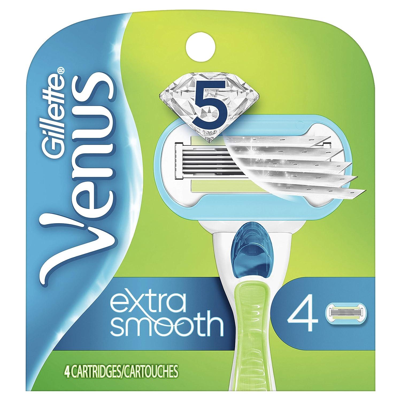Gillette Venus Extra Smooth Women's Razor Blades - 4 Refills