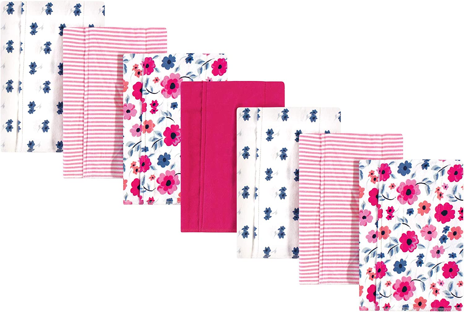 Touched by Nature Baby Organic Cotton Flannel Burp Cloths 7-Pack