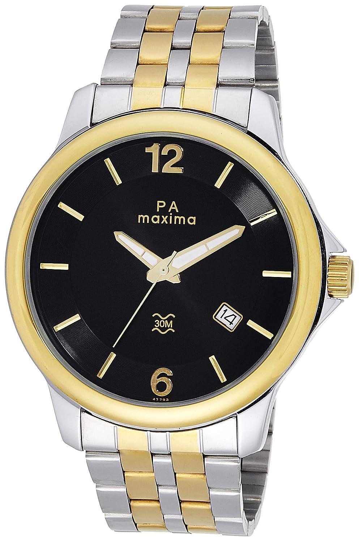 MAXIMA Analog Black Dial Men's Watch - 47793CMGT