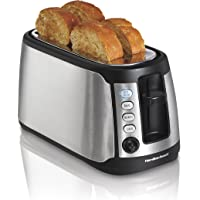 Hamilton Beach 4-Slice Long Slot Keep Warm Toaster (24810)