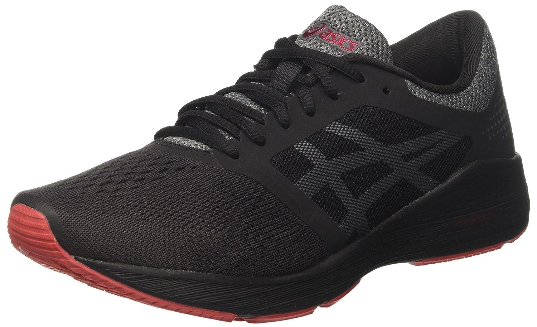 ASICS Roadhawk FF, Chaussures de Running Compétition EU|Noir Homme 43.5 EU|Noir Compétition (Black/Carbon/Classic Red 9097) 812429