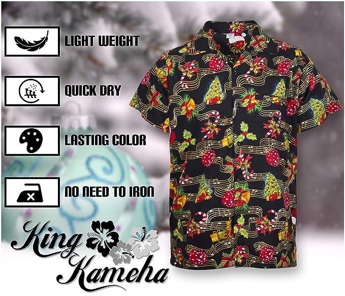 Amazon.com: King Kameha - Camiseta de manga corta para ...