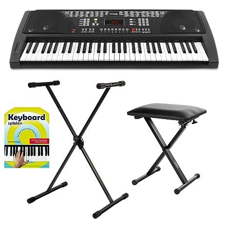 Teclado FunKey 61 Keyboard, set. incl. soporte para teclado + banqueta