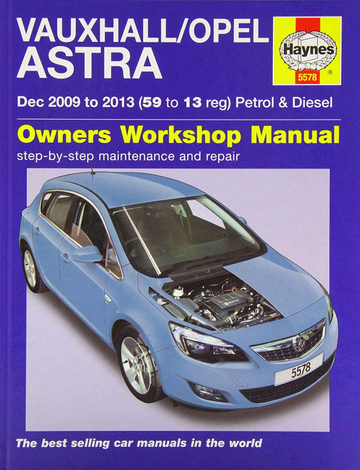 Vauxhall/Opel Astra (Dec 09 - 13) Haynes Repair Manual: Anon: Amazon.co.uk:  Car & Motorbike