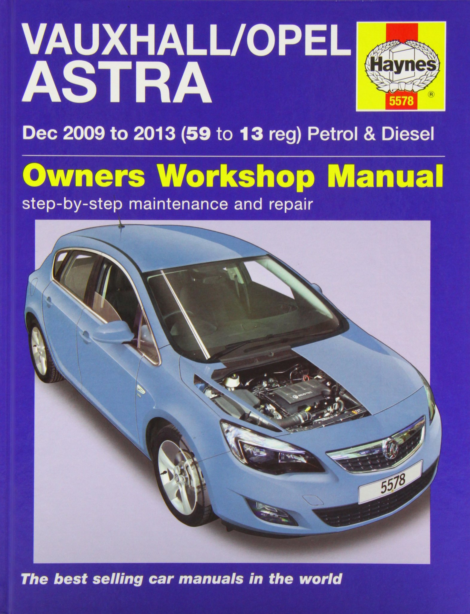 Vauxhall/Opel Astra (Dec 09 - 13) 59 To 13: Amazon.es: John S. Mead: Libros en idiomas extranjeros