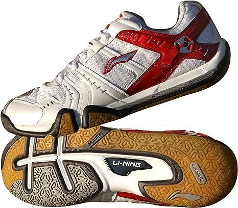 Li-Ning - Zapatillas Deportivas de Tenis de bádminton (Talla 36-11), Color metálico, Rojo, 11: Amazon.es: Deportes y aire libre