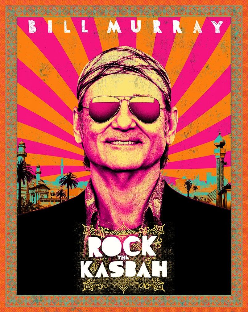 DVD : Rock the Kasbah (Snap Case, Slipsleeve Packaging)