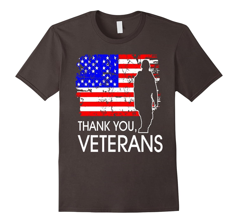 Thank You Veterans Memorial Day Pride T shirt-Vaci – Vaciuk