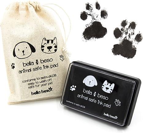 Kit de impresión de huellas de gato y perro, tinta segura para ...