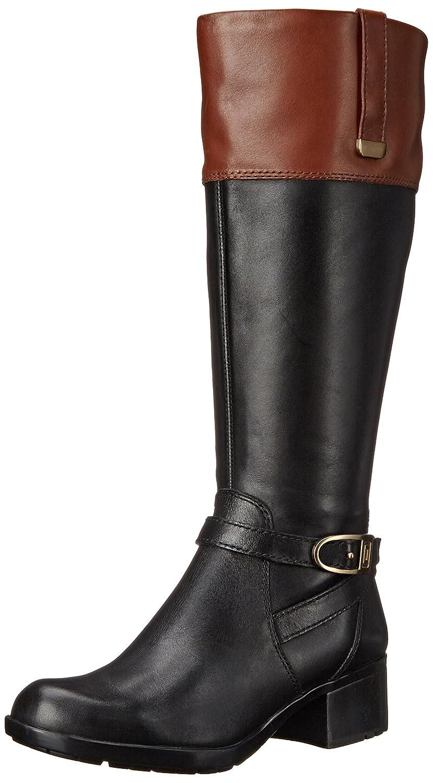 5cb6e374460 Bandolino Women's Baya Wide-Calf Riding Boot