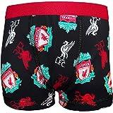 Liverpool FC - Calzoncillos oficiales - Con el escudo del club, el Liverbird y el