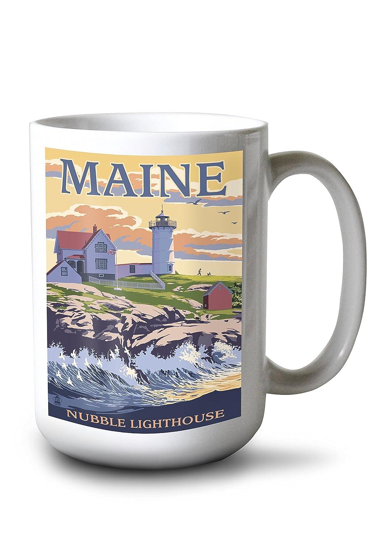 【特別訳あり特価】 Nubble灯台 – York、メイン州 York、メイン州 16 x Giclee 24 Giclee Print Mug LANT-32364-16x24 B0784PPMK3 15oz Mug 15oz Mug, BRANDSHOP HERIOS:34488a4d --- rarspoliplas.com