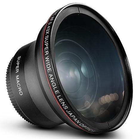 Amazon 58MM 043x Altura Photo Professional HD Wide Angle Lens