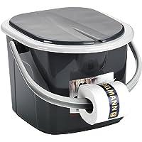 BranQ - inodoro WC Cubo de viaje, 15,5