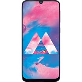 Samsung Galaxy M30 (Metallic Blue, 3GB RAM, Super AMOLED Display, 32GB Storage, 5000mAH Battery);(Extra Rs 500 Apay cashback applicable on prepaid orders)