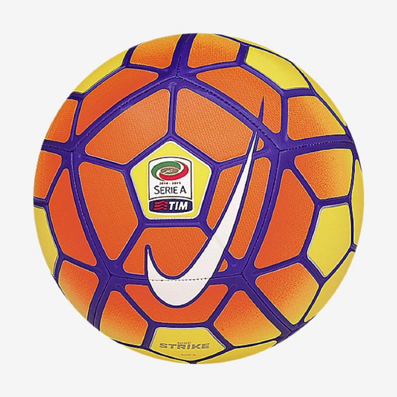 Nike Strike Serie A - Balón Unisex, Color Amarillo/Naranja/Morado ...
