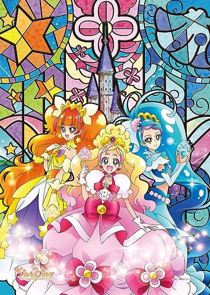 cf2bde65f1a8dc Amazon.com: 208 Pieces Jigsaw Puzzle Go! Princess Precure Glitter ! Mode  Elegant Art Crystal: Toys & Games