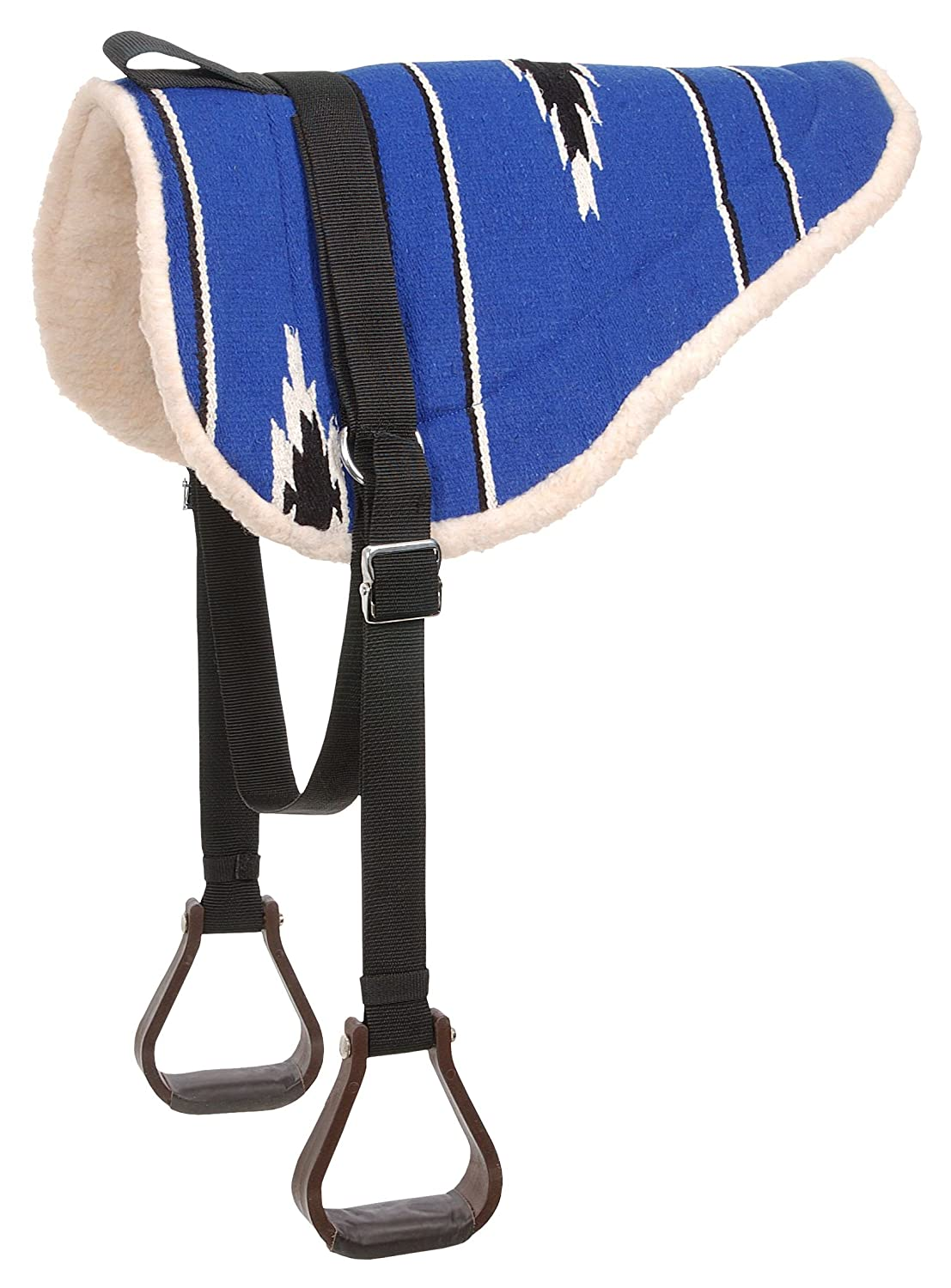 Hunter Black Tough 1 Adult Navajo Bareback Pad