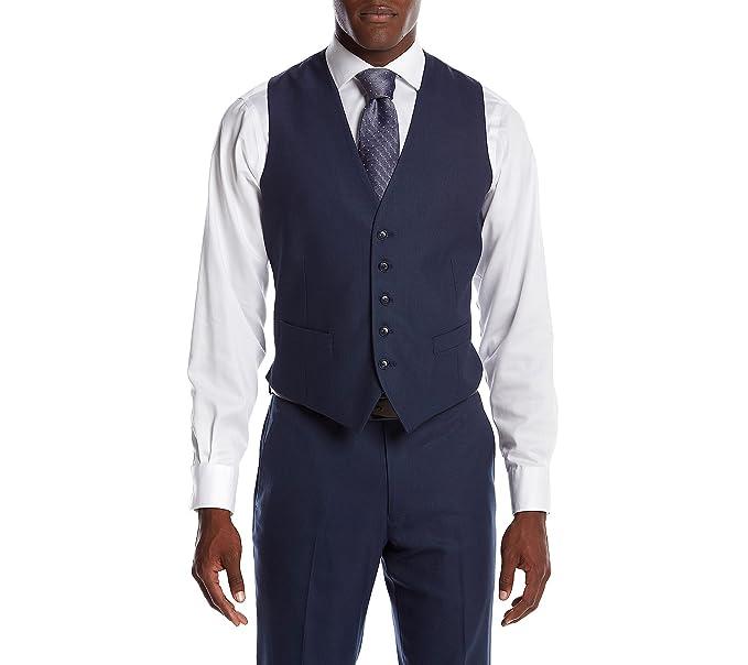 Amazon.com: Perry Ellis de los hombres Suit Separate Chaleco ...