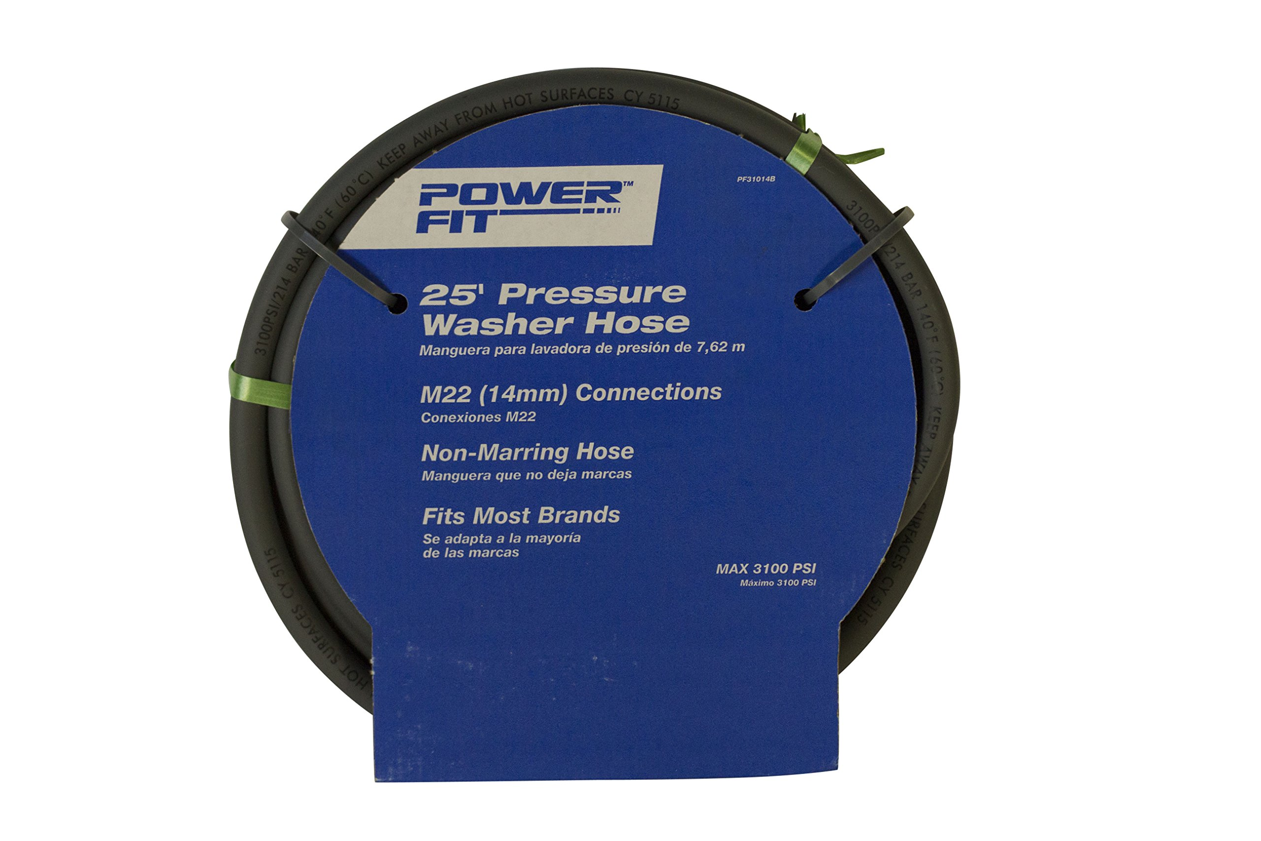 Powerstroke Series PF31014B 25Ft Pressure Washer Hose