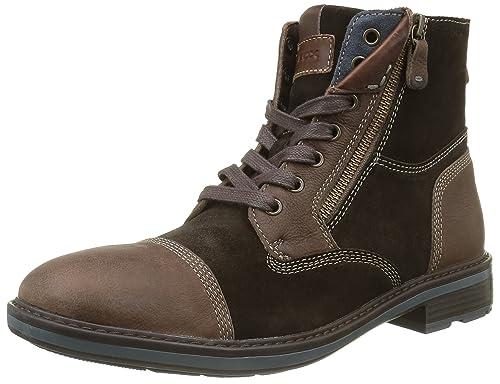 Geox U RICKMOVE A, Men's Ankle Boots, Brown (Dk Brownc6006