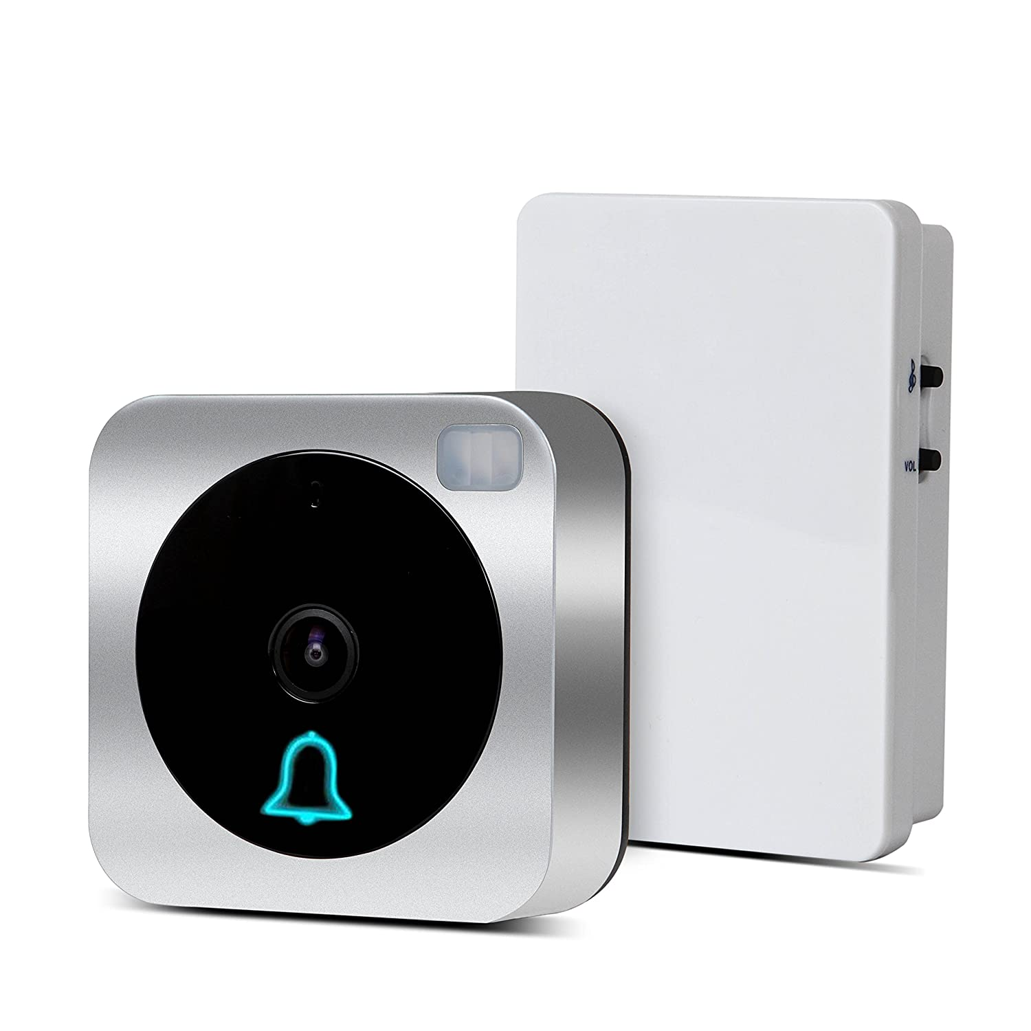 VueBell WIFI HD Camera Video Doorbell with Motion Detection Two Way Audio and Wireless Door Bell Chime Included(Hard wired version) - - Amazon .com  sc 1 st  Amazon.com & VueBell WIFI HD Camera Video Doorbell with Motion Detection Two ...