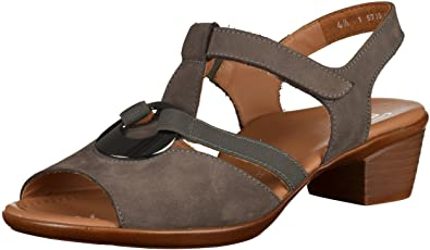 the latest ecde0 c7e27 ara Damen Lugano-s T-Spangen Sandalen