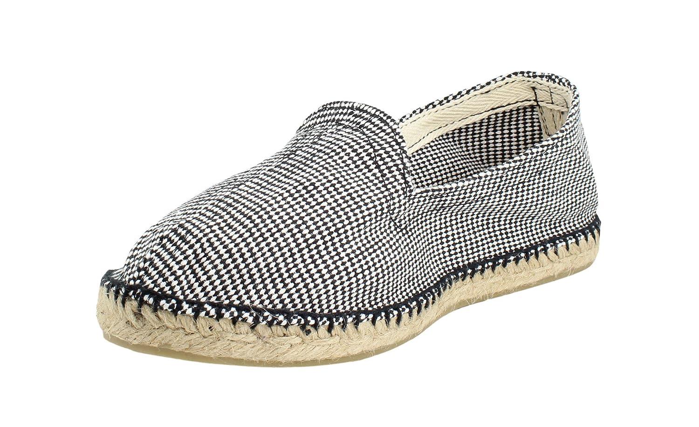 Alpargata Espiga Pata de Gallo Negro Hombre: Amazon.es: Zapatos y complementos