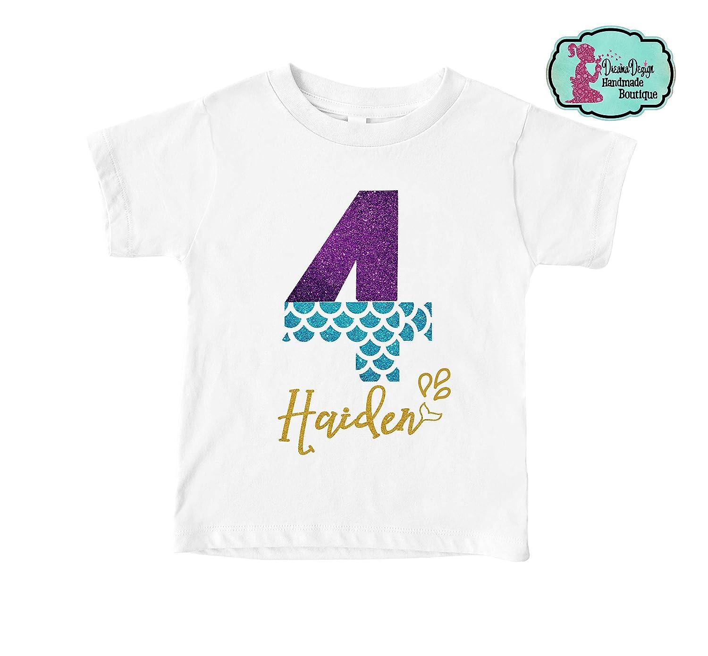 Glitter Mermaid In Training Kids Shirt