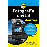 Fotografía digital para Dummies (Spanish Edition) book cover