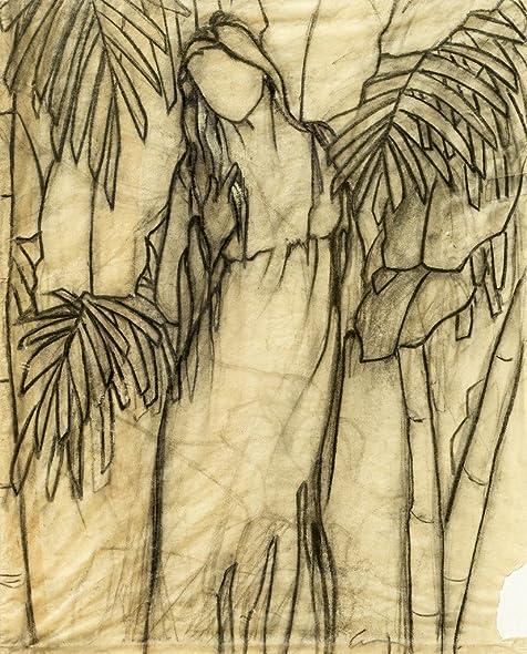 Amazon.com: Original Black and White Drawing - Floating - Hand Drawn ...