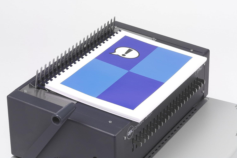 Bianco IB271717 GBC Rilegatrice CombBind C800Pro EU Rilega fino a 450 Fogli Capacit/à di Perforazione Elettrica di 20 Fogli A4