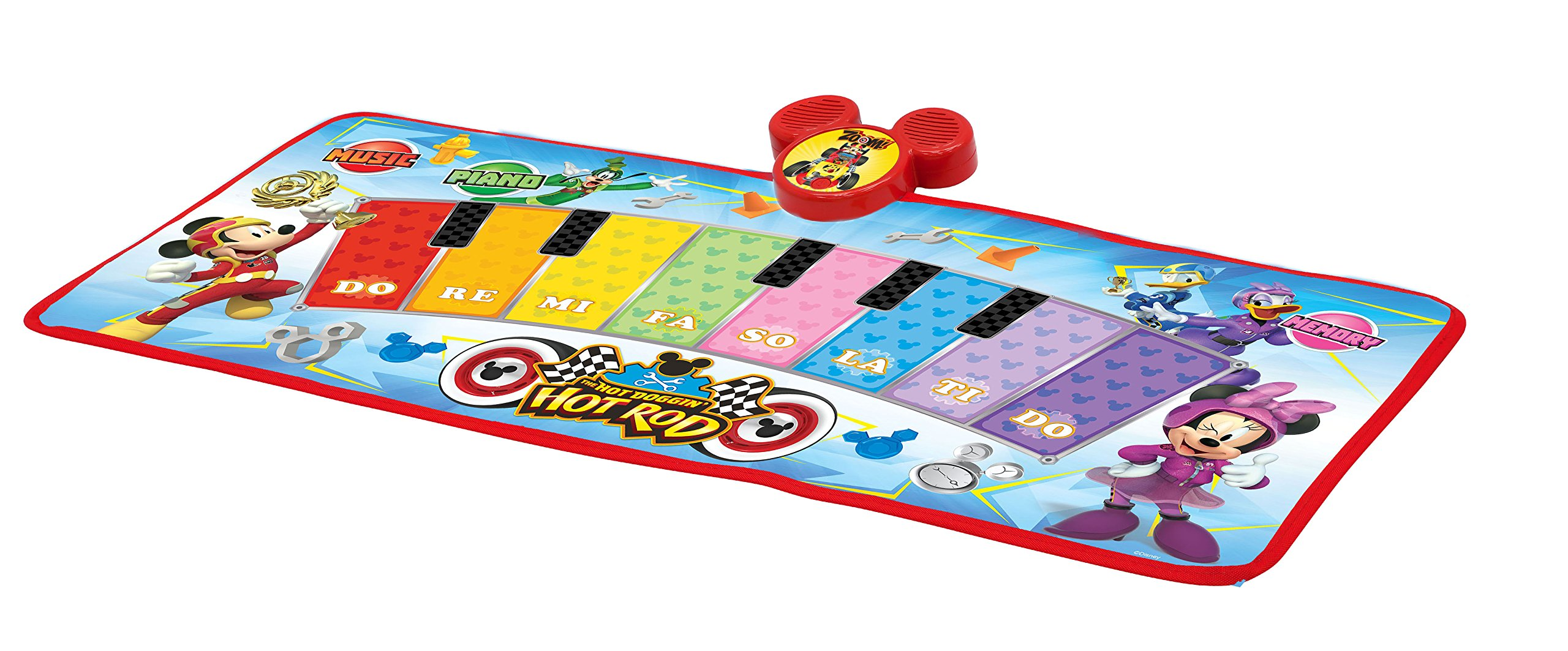 Mickey and the Roadster Racers Electronic Music Play Mat, Multicolor by Mickey and the Roadster Racers (Image #2)