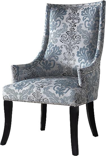 Damask Wheat Furniture Chair Slipcover