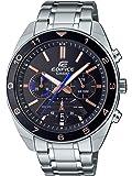 Casio Edifice Reloj de Cuarzo con Correa de Acero Inoxidable, Plateado, 21.7 (Modelo: Efv-590D-2Avcr)