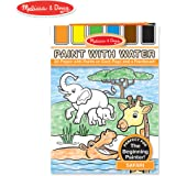 Melissa and Doug Paint with Water - Safari, Multi Color