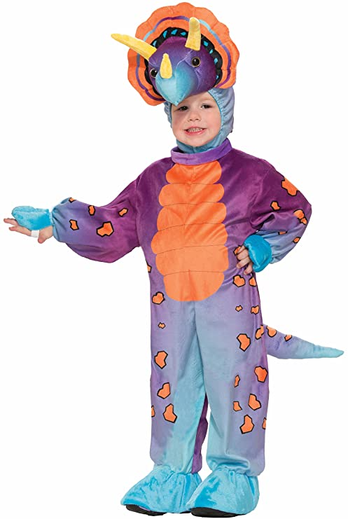 Forum Novelties Kids Spunky Triceratops Costume Multicolor Toddler  sc 1 st  Amazon.com : triceratops costume  - Germanpascual.Com