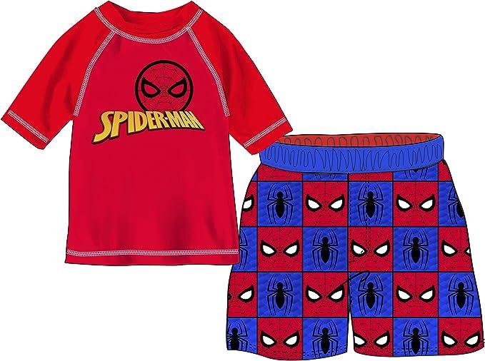 Marvel Boys Spider-Man 2-Piece Swim Set
