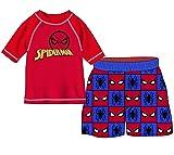 Marvel Boys' Spider-Man 2-Piece Swim Set, Toddler