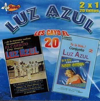 Luz Azul, Conjunto Tropical Luz Azul - Luz Azul (20 Exitos Volumen 2) DCY-310-028 - Amazon.com Music