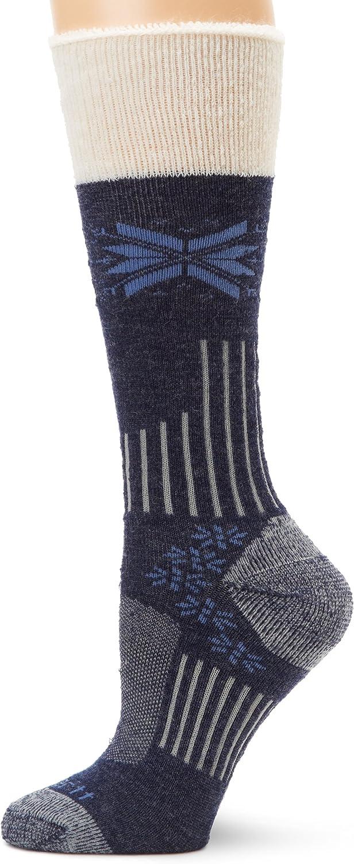 Carhartt Womens Snow Flake Sherpa Cuff Graduated Compression Boot Socks