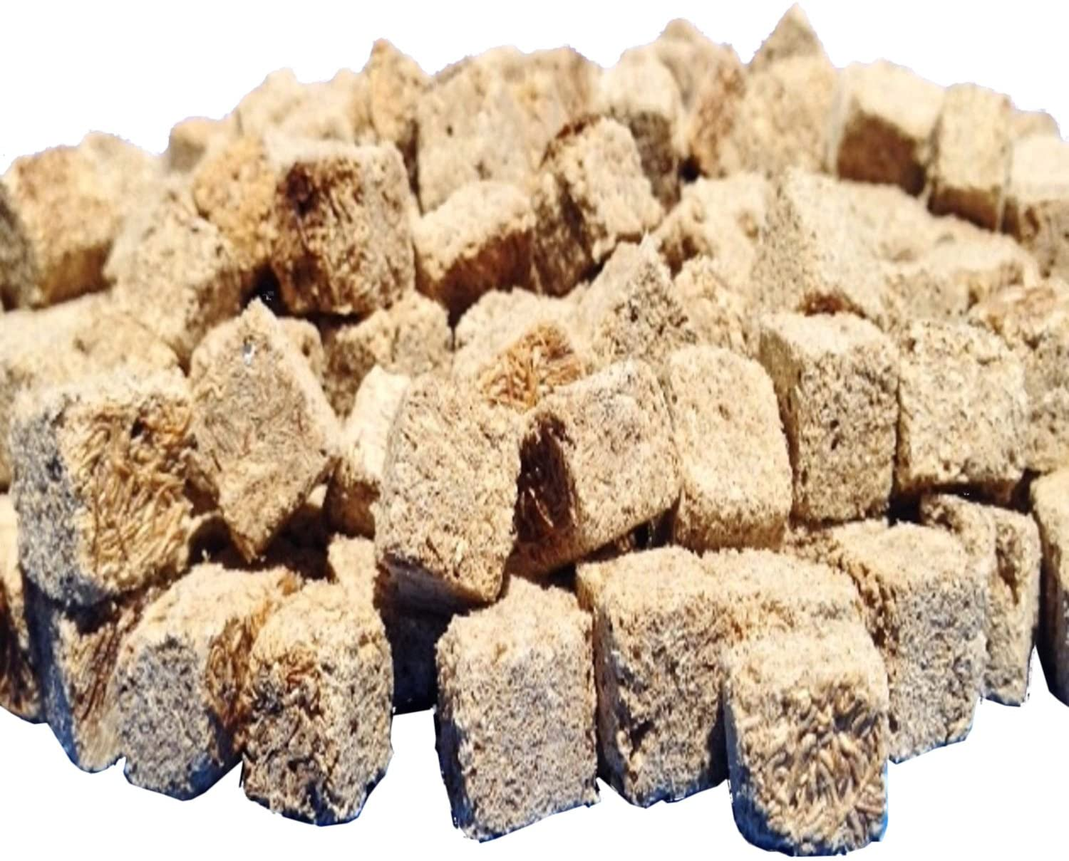 Freeze Dried Tubifex Worm Cubes. Aquatic Foods Freeze Dried Tropical Fish Foods